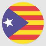 Self-adhesive Flag of Catalan Independence Stickers