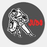self-adhesive judo Harai goshi Stickers
