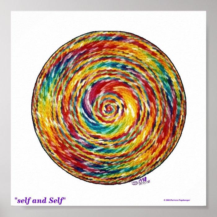 """self and Self"" Poster"