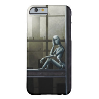 self aware robot scifi barely there iPhone 6 case