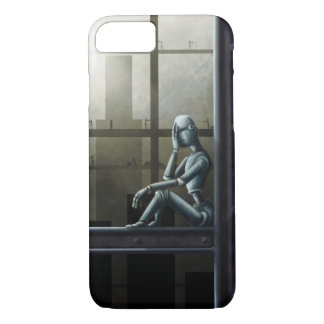 self aware robot scifi iPhone 7 case