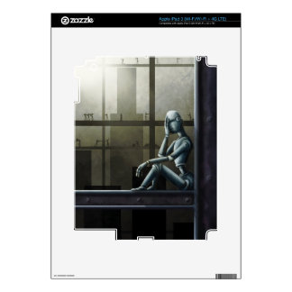 self aware robot scifi iPad 3 skins