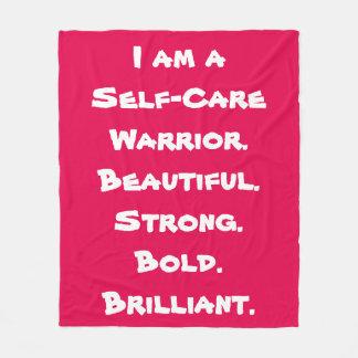 Self-Care Warrior Blanket