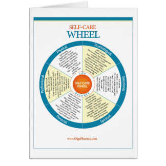 Self-Care Wheel Products Card