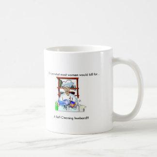 Self-Cleaning Husband women s mug