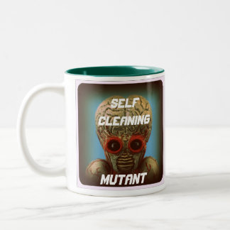 Self Cleaning Mutant Two-Tone Coffee Mug