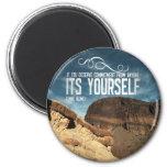 Self Commitment Inspirational Magnet