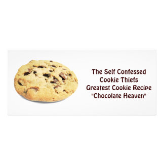 Self Confessed Cookie Thief! - Recipe Card