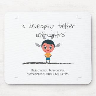 Self Control Boy Mousepad
