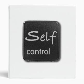 Self Control Button Avery Binder