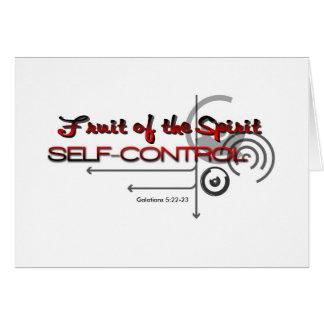 Self-Control, FOS Card