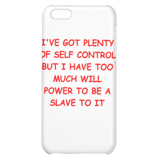 self control iPhone 5C covers