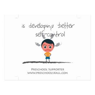Self Control Postcard