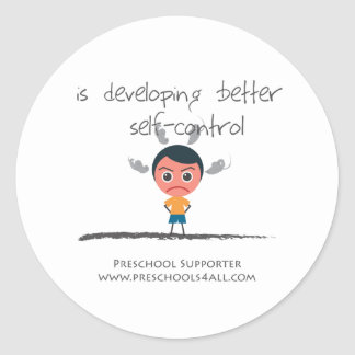 Self Control Stickers