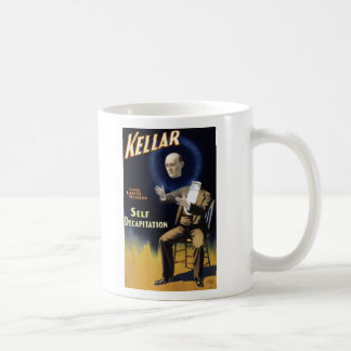 Self Decapitation Classic White Coffee Mug