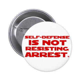 Self-Defense1 2 Inch Round Button