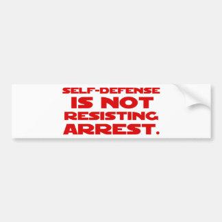 Self-Defense1 Bumper Stickers