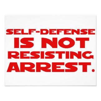 Self-Defense1 Invitations