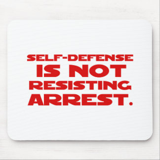 Self-Defense1 Mouse Pad