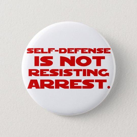 Self-Defense1 Pinback Button