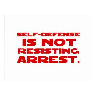 Self-Defense1 Postcard