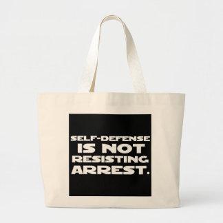Self-Defense2 Jumbo Tote Bag