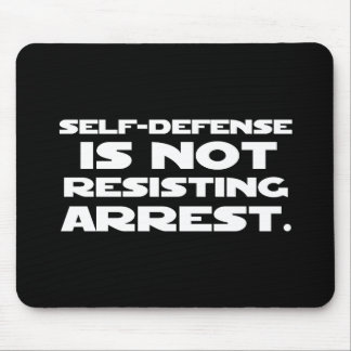 Self-Defense2 Mouse Pad