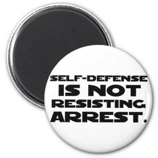 Self-Defense3 2 Inch Round Magnet