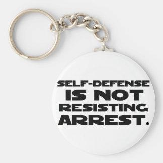 Self-Defense3 Basic Round Button Keychain