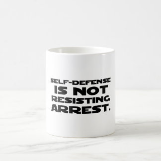 Self-Defense3 Coffee Mug