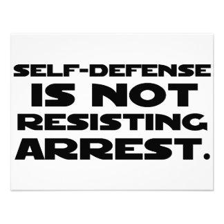 Self-Defense3 Invitations