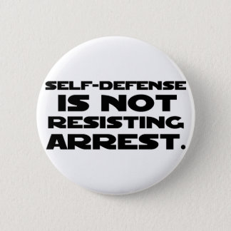 Self-Defense3 Pinback Button