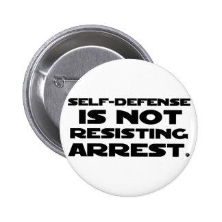Self-Defense3 Pinback Button