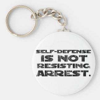 Self-Defense3 Washed Heavy Keychains