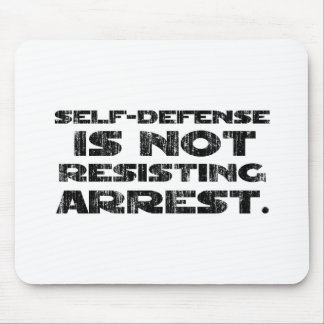 Self-Defense3 Washed Heavy Mouse Pad