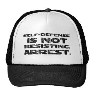 Self-Defense3 Washed Heavy Trucker Hat