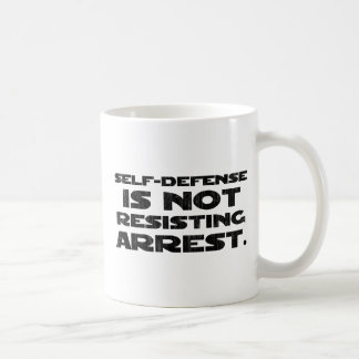 Self-Defense3 Washed Light Mugs