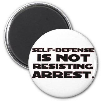 Self-Defense4 2 Inch Round Magnet
