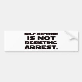 Self-Defense4 Bumper Stickers