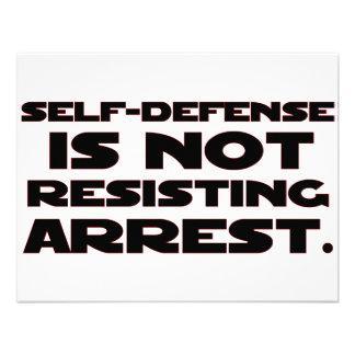Self-Defense4 Invitation