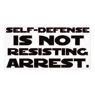 Self-Defense4 Photo Card