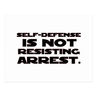 Self-Defense4 Postcard