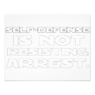 Self-Defense5 Invitations