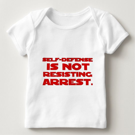 Self-Defense6 Baby T-Shirt
