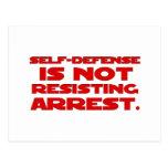 Self-Defense6 Postcard
