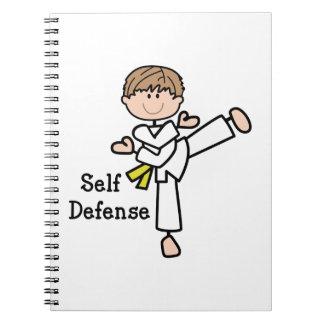 Self Defense Spiral Notebook