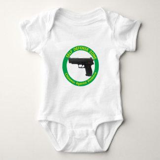 Self Defense Zone-Violence Baby Bodysuit