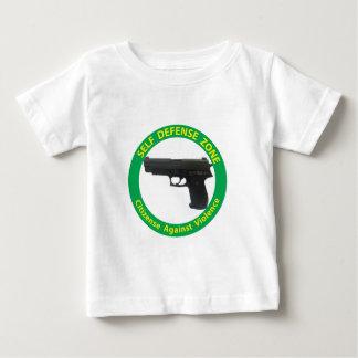 Self Defense Zone-Violence Baby T-Shirt