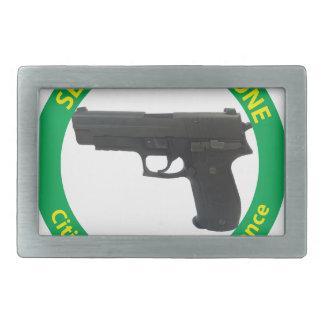 Self Defense Zone-Violence Belt Buckle