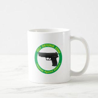 Self Defense Zone-Violence Coffee Mug